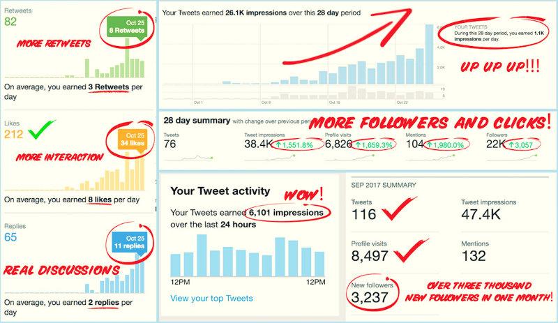 Cómo conseguir seguidores, ventas y retweets en Twitter