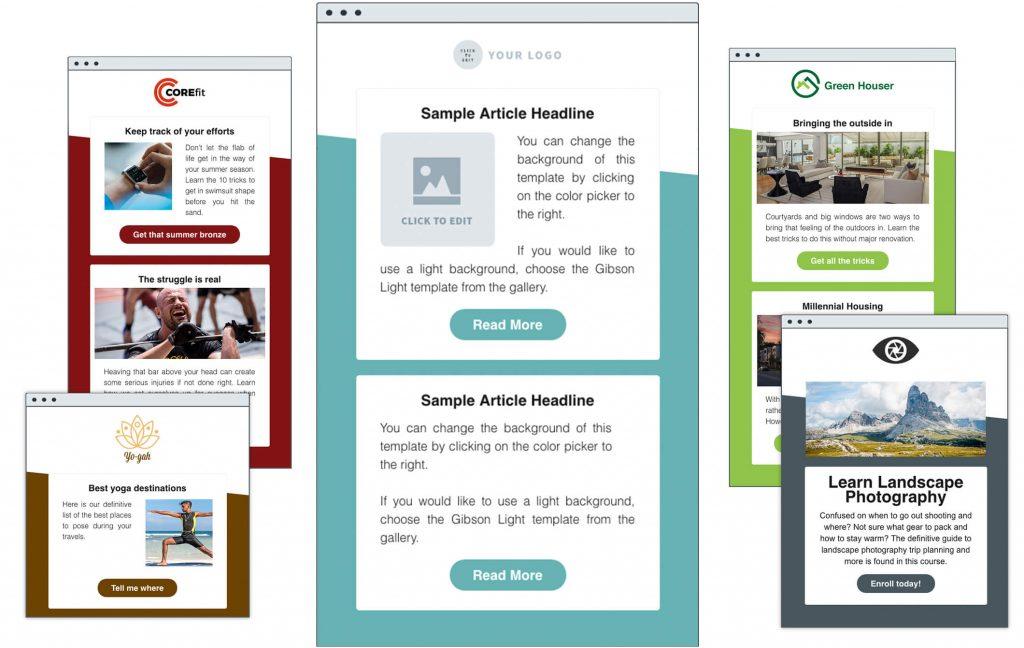Plantillas email marketing eficaces