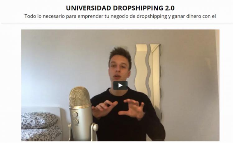 Te gusta el mundo del dropshipping y no sabes como empezar; pues te tenemos la solución, es que la Universidad de dropshipping 2.0que te presentamos va de manera directa a lo que es este mundo y es la indicada que te enseñara a cómo hacer dropshipping de manera fácil y rápida.