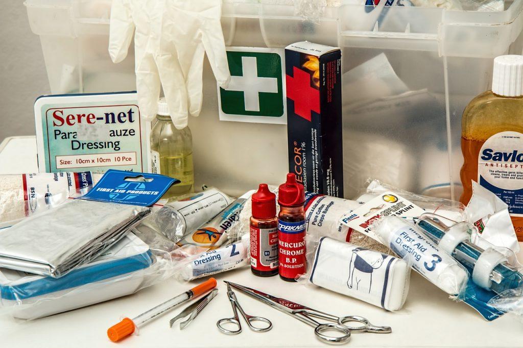 Material médico que tener en la oficina