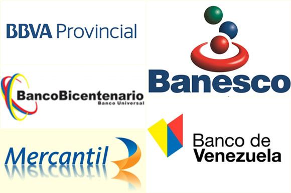 cuales son los Bancos de Venezuela