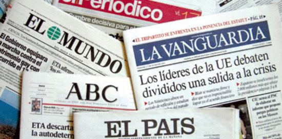medios de prensa offline