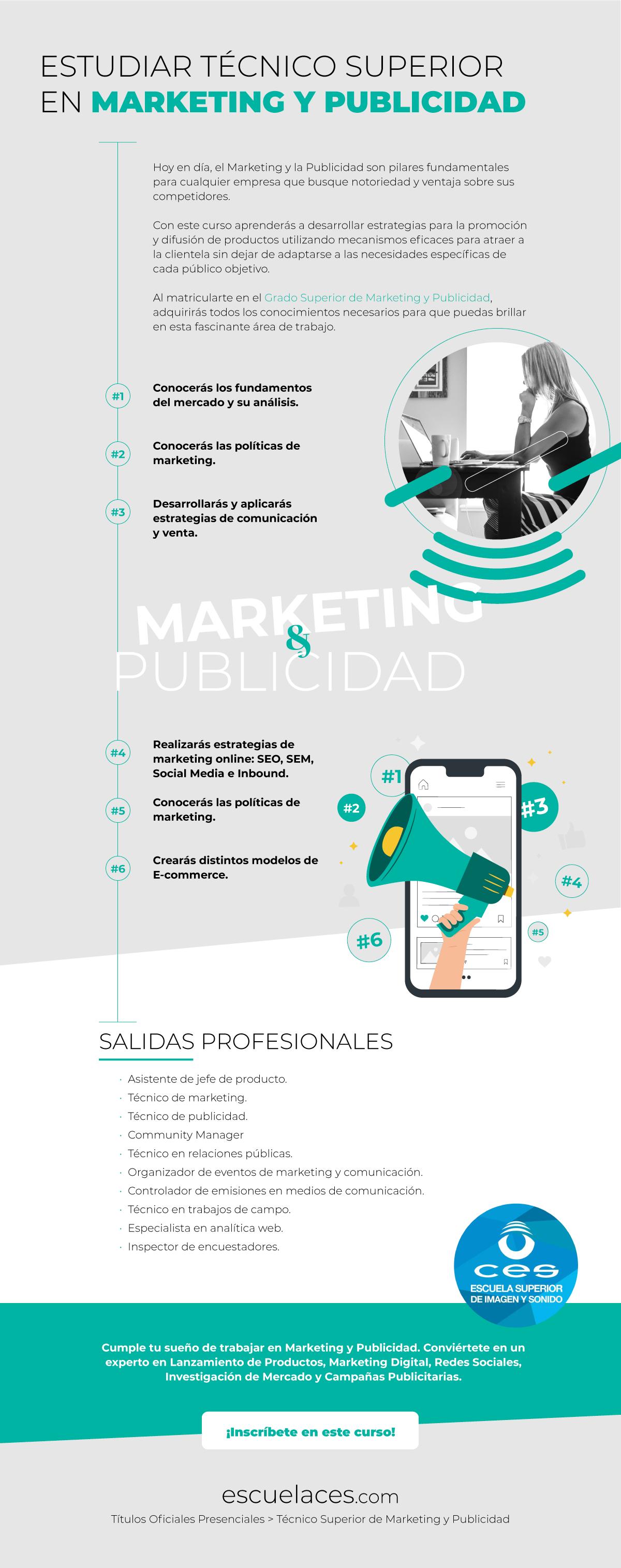Curso de Técnico Superior en Marketing y Publicidad